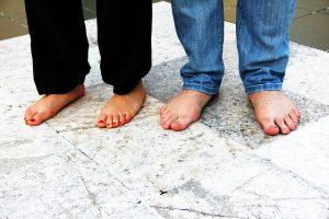 Nohy a zdravé nechty